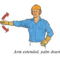 Hand Signals for tower crane operations